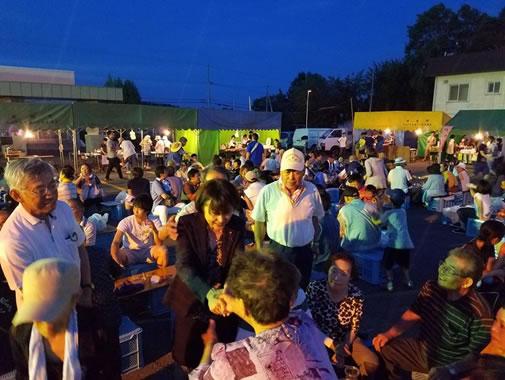 屈足さわやかビールパーティー(新得町)の中川郁子(ゆうこ)写真