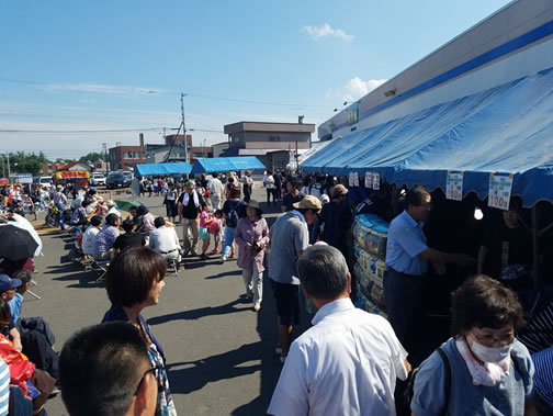 清流祭り(清水町)の中川郁子(ゆうこ)写真