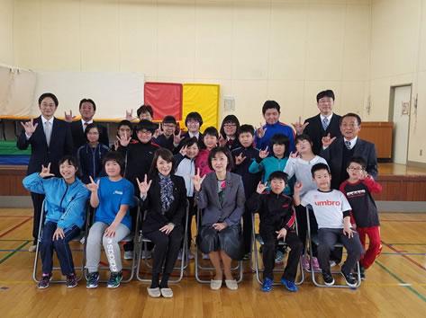 中川ゆうこ十勝連合後援会新年交礼会が開催の中川郁子(ゆうこ)写真
