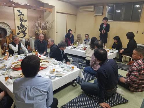 上士幌猟友会「鹿肉を堪能する会」の中川郁子(ゆうこ)写真