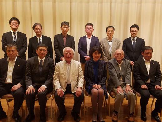 水問題の専門家・竹村公太郎先生が十勝入りの中川郁子(ゆうこ)写真