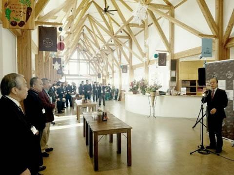「十勝川温泉ガーデンスパ」 オープン一周年レセプション。の中川郁子(ゆうこ)写真