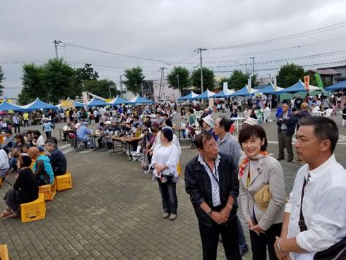 しほろ7000人の祭りの中川郁子(ゆうこ)写真