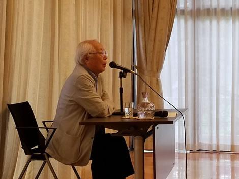 東京後援会の皆さまとの勉強会の中川郁子(ゆうこ)写真