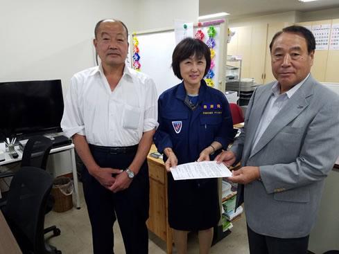 北海道森林組合連合会 要望の中川郁子(ゆうこ)写真