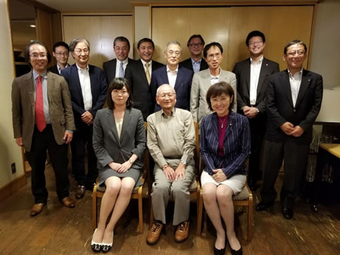 竹村公太郎先生、十勝の地形から歴史の謎を解く講演会の中川郁子(ゆうこ)写真