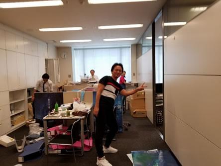 お引っ越し。の中川郁子(ゆうこ)写真