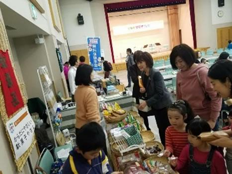 音更町議の上野みゆきさんの子育てイベントの中川郁子(ゆうこ)写真