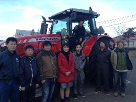 十勝の収穫祭の中川郁子(ゆうこ)写真