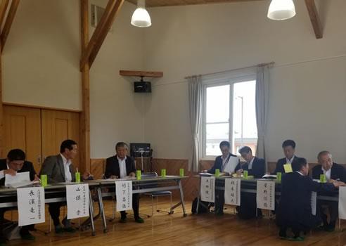 「自民党北海道11選挙区地域政策懇談会」の中川郁子(ゆうこ)写真
