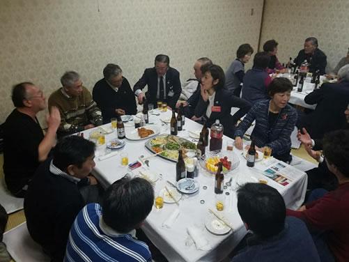 更別村「中川ゆうこを囲む会」の中川郁子(ゆうこ)写真