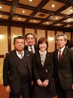 自民党北海道農政推進協議会の中川郁子(ゆうこ)写真