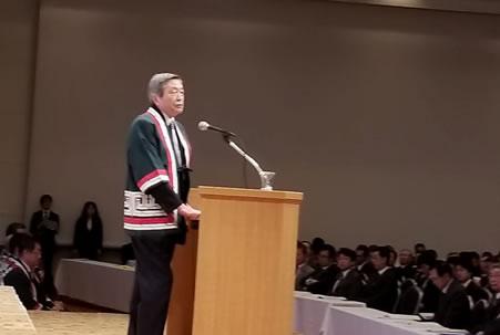 「第79回自民党道連大会」出席の中川郁子(ゆうこ)写真