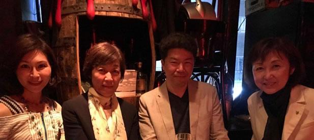中川郁子を囲む会の中川郁子(ゆうこ)写真