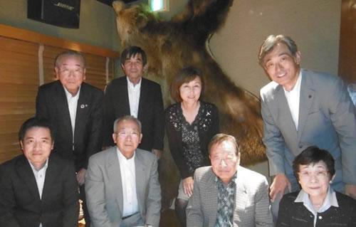 札幌市にて中川郁子福光後援会開催の中川郁子(ゆうこ)写真
