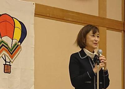 『なかよし会』交流会の中川郁子(ゆうこ)写真
