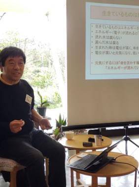 共働学舎収穫祭の中川郁子(ゆうこ)写真