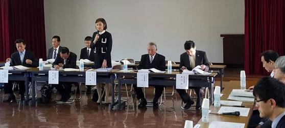 自民党北海道11選挙区政策懇談会の中川郁子(ゆうこ)写真