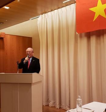 ベトナム交流会開催の中川郁子(ゆうこ)写真