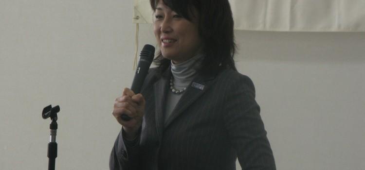 2012/02/05 大谷とおる更別後援会新年交礼会にて。