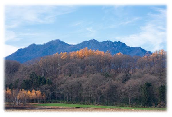 北海道の十勝の山々