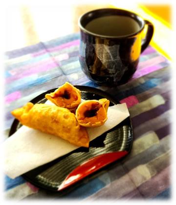 中川郁子(ゆうこ)のかぼちゃとコーヒーの写真