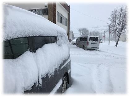 十勝帯広の大雪