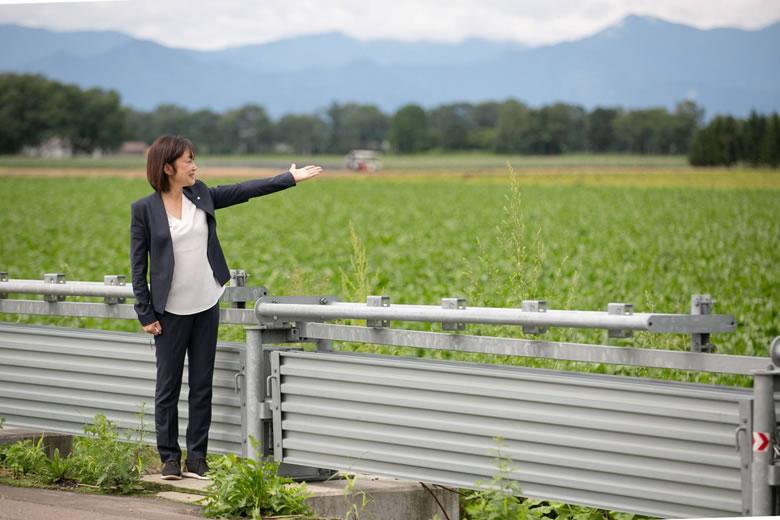 中川郁子(なかがわゆうこ)と北海道十勝の風景